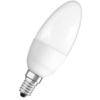 Osram LED Star Classic B 40 6.5W/827 FR Matt E14 A+