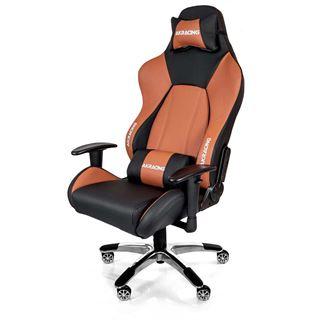 AKRacing Premium V2 Gaming Chair - schwarz/braun