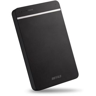 """1000GB Buffalo MiniStation Portable DDR HD-PGD1.0U3-EU 2.5"""" (6.4cm) USB 3.0 schwarz"""