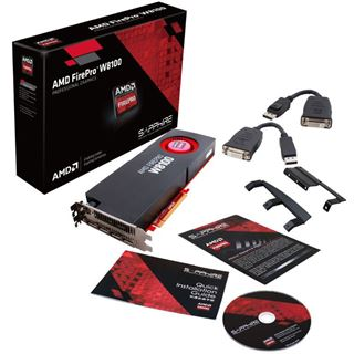 8GB Sapphire FirePro W8100 Aktiv PCIe 3.0 x16 (Retail)