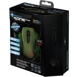 Roccat Kone Pure Camo Charge USB gruen (kabelgebunden)