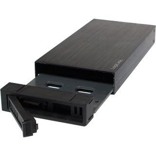 "LogiLink UA0209 2.5"" (6,35cm) USB 3.0 schwarz"