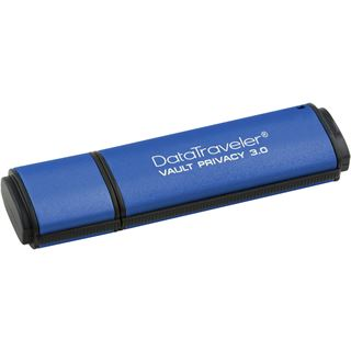 32 GB Kingston DataTraveler Vault Privacy 3.0 blau USB 3.0