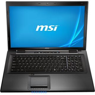 """Notebook 17.3"""" (43,94cm) MSI CX70-2PFi587W7"""