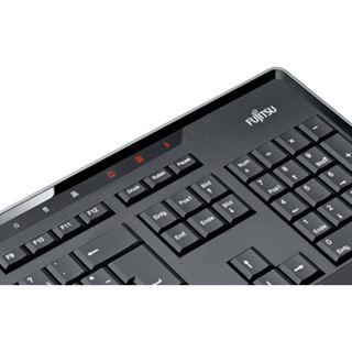 Fujitsu KB900 USB Portugiesisch schwarz (kabelgebunden)