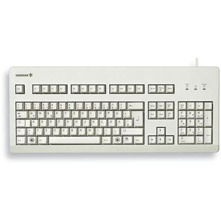 CHERRY G80-3000 PS/2 & USB Englisch (US)/Chinesisch hellgrau (kabelgebunden)