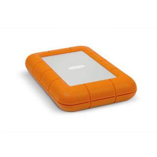 """1000GB LaCie Rugged 9000488 2.5"""" (6.4cm) Thunderbolt/USB 3.0 silber/orange"""