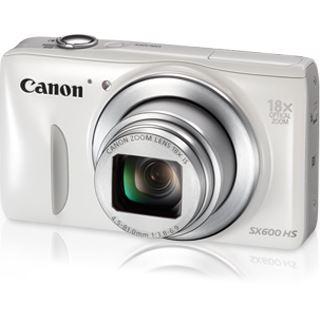 Canon PowerShot SX600 HS weiß + Stativ + Tasche