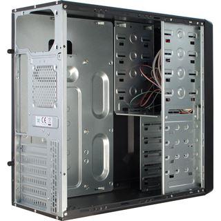 Inter-Tech SY-113 Midi Tower ohne Netzteil schwarz