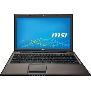 """Notebook 15.6"""" (39,62cm) MSI CX61-2PCi581BW7 0016GD-SKU78"""