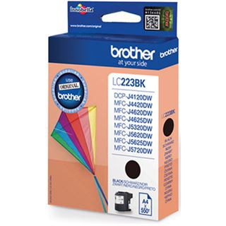 Brother Tinte LC223BK schwarz