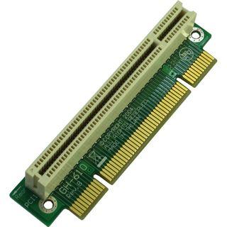 Inter-Tech 90° links gerichtet Riser Card für PCI (88885223)