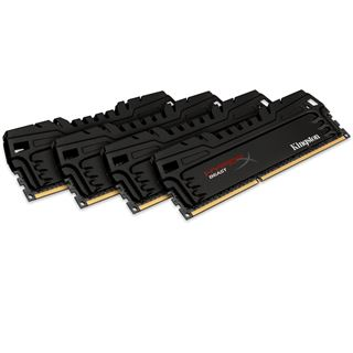32GB HyperX Beast DDR3-2400 DIMM CL11 Quad Kit