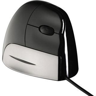 BakkerElkhuizen VerticalMouse Standard USB schwarz/silber (kabelgebunden)