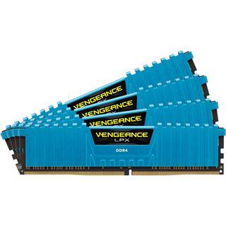 16GB Corsair Vengeance LPX blau DDR4-2800 DIMM CL16 Quad Kit