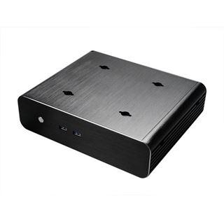 Akasa Euler S Thin Mini-ITX ohne Netzteil schwarz