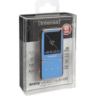 8GB Intenso Video MP3 Scooter blau