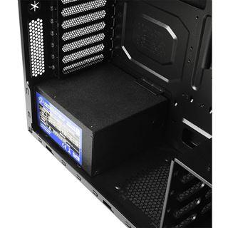 Cooltek Antiphon Airflow gedämmt Midi Tower ohne Netzteil schwarz
