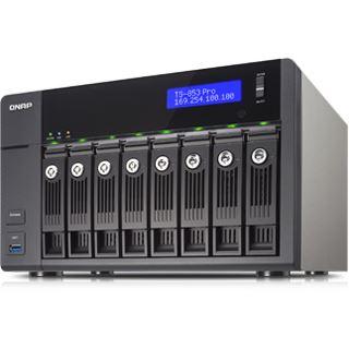 QNAP Turbo Station TS-853-8G Pro ohne Festplatten