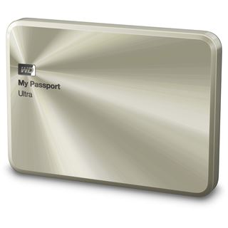"1000GB WD My Passport Ultra Metal WDBTYH0010BCG-EESN 2.5"" (6.4cm) USB 3.0 gold"
