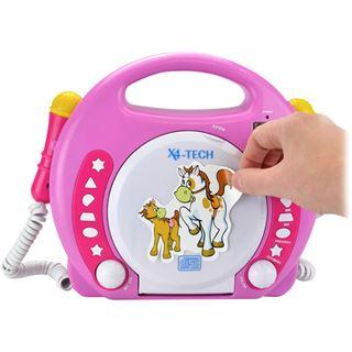 X4-Tech Bobb Joey MP3 pink