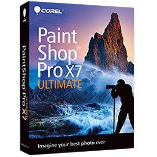 Corel PaintShop Pro X7 Ultimate 32/64 Bit Multilingual Grafik Vollversion PC (DVD)