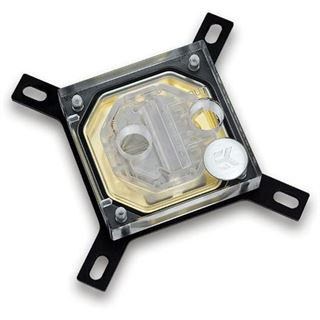 EK Water Blocks Supremacy EVO Gold Kupfer (vergoldet) CPU Kühler