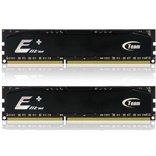 8GB TeamGroup Elite Plus Series schwarz DDR3-1600 DIMM CL11 Dual Kit