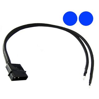 XSPC blaue 5mm Twin-Wired LED für 4-Pin Molex (5060175581983)