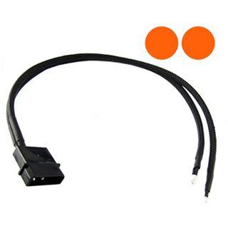XSPC orange 3mm Twin-Wired LED für 4-Pin Molex (5060175582164)