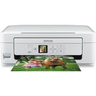 Epson Expression Home XP-325 weiß Tinte Drucken/Scannen/Kopieren Cardreader/USB 2.0/WLAN
