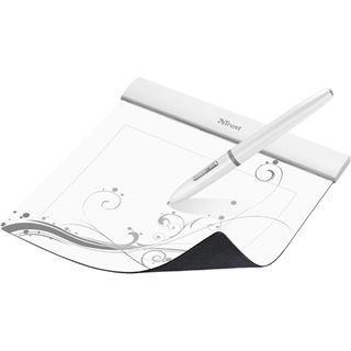 Trust Flex Design Tablet 155x120mm USB weiss
