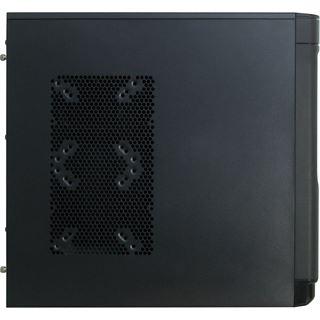 Inter-Tech Eterno V6 Paladin Midi Tower ohne Netzteil schwarz