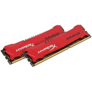 16GB HyperX Savage rot DDR3-1600 DIMM CL9 Dual Kit