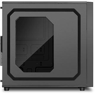 Sharkoon VS4-W mit Sichtfenster Midi Tower ohne Netzteil schwarz