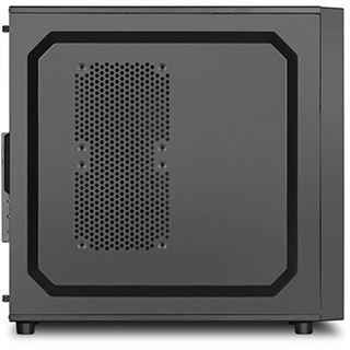 Sharkoon VS4-V Midi Tower ohne Netzteil schwarz