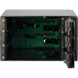 """Inter-Tech VT-213 TL 2x5,25"""" Wechselrahmen für 3x 3.5"""" Festplatten (88887091)"""