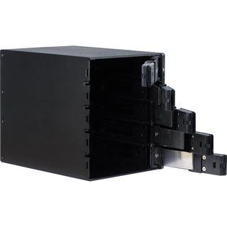 """Inter-Tech VT-315 3x5,25"""" Wechselrahmen für 5x 2,5""""/3,5"""" Festplatten (88887093)"""
