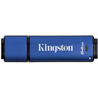 64 GB Kingston DataTraveler Vault Privacy blau/schwarz USB 3.0
