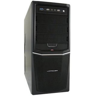 LC-Power Pro-924B Midi Tower 350 Watt schwarz