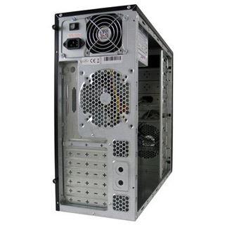 LC-Power 649B Midi Tower 350 Watt schwarz