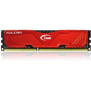 16GB TeamGroup Vulcan Series rot DDR3-2133 DIMM CL10 Dual Kit
