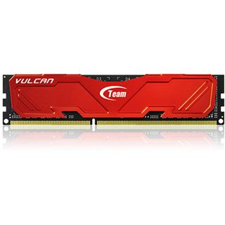 16GB TeamGroup Vulcan Series rot DDR3-2400 DIMM CL11 Dual Kit