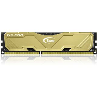 8GB TeamGroup Vulcan Series gold DDR3-1600 DIMM CL9 Dual Kit