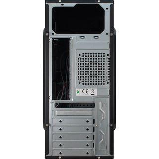 Inter-Tech SY-139 BKL Midi Tower ohne Netzteil schwarz