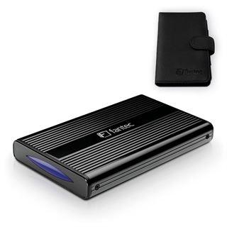 """Fantec DB-228U3-6G 2.5"""" (6,35cm) USB 3.0 schwarz"""