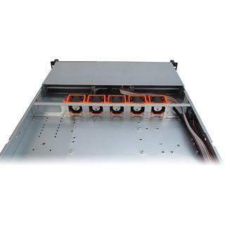 Inter-Tech IPC 1U-10255 Server Rack ohne Netzteil schwarz