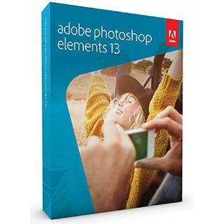 Adobe Photoshop Elements 13.0 32/64 Bit Englisch Grafik Vollversion PC/Mac (DVD)