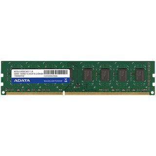 4GB ADATA Value DDR3-1600 DIMM CL11 Single