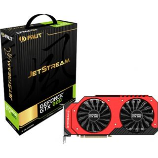 4GB Palit GeForce GTX 980 JetStream Aktiv PCIe 3.0 x16 (Retail)